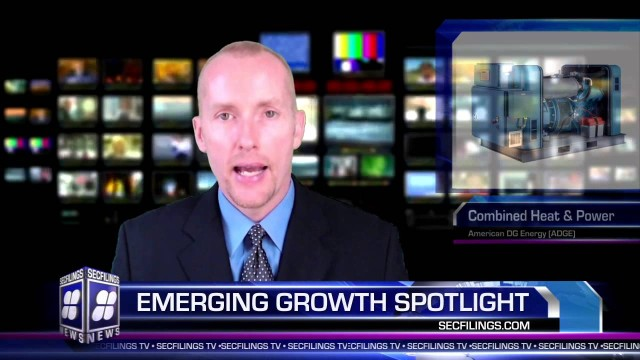 SECFilings TV Emerging Growth Company Spotlight | Featuring American DG Energy (ADGE)